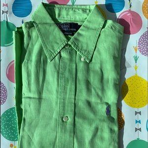 Polo Ralph Lauren Long Sleeve Silk/Linen Shirt